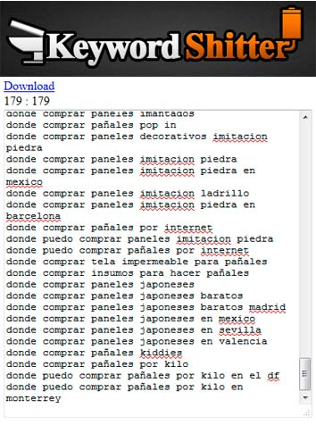 keyword-shitter-palabras-clave