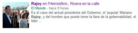 Como spinear a Rajoy