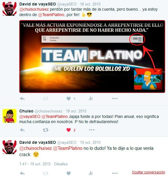 Curso TeamPlatino - SEO, BlackHat y monetización
