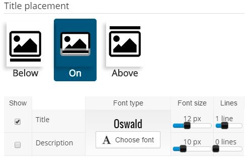 Colocar el texto y descripción en PlugRush