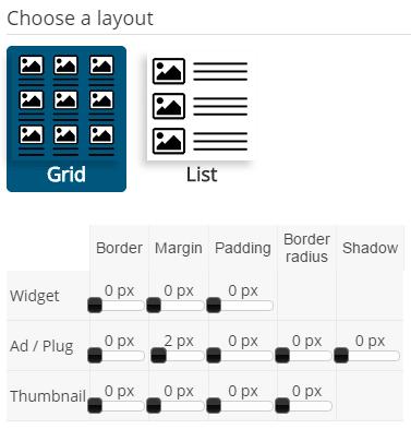 Como configurar las medidas de PlugRush