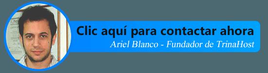 Contactar con Trinahost (Ariel Blanco)