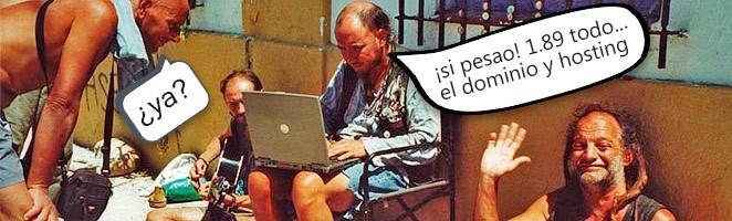 Cómo montar una web por menos de 2 euros